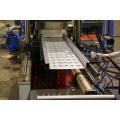 Máquina formadora de rollos de tablero de andamio de acero