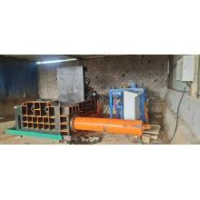 Scrap Round Steel Pipe Rebar Iron Baling Machine