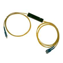 Acoplador del Fbt de la fibra de casete del ABS 1 * 2
