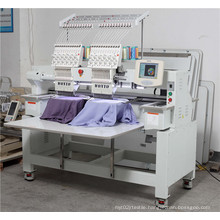 2 Head Computerized Cap Embroidery Machine and Flat Embroidery Machine