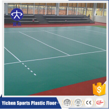 Inexpensive indoor plastic flooring high quality