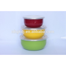 enamel colorful ice bowl popular by child & Chinese enamelware