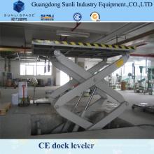 Mechanische hydraulische Ladeplattform Dock Ramp