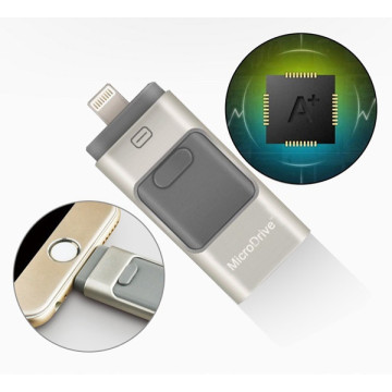OTG Dual USB Flash Drive voor iPhone