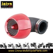 Filtre à air de moto Assy avec tube de courbure de coude de 42 mm