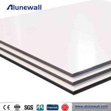 Diseño fresco 4 * 8 pies de paneles de decoración de panel compuesto de aluminio parrilla cnc