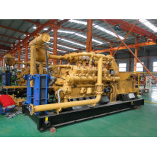 Green Power China Lvhuan 500kw Nature Gas Turbine Power Plant Generator Set with Water-Cooled and CHP Industrial Generators