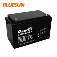 Bluesun batterie gel 12V 150Ah 200Ah de haute qualité pour stockage électrique pour système solaire hors réseau 10kw
