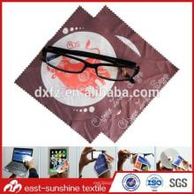 Chiffons de nettoyage en fibre de verre en microfibres bon marché de haute qualité en gros