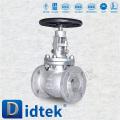 Didtek ANSI 3 '' 150LB Flanschanschluss Steigrohr Edelstahl Globe Ventil