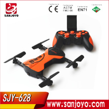 Foldable Mini Drone with WIFI FPV camera Altitude Hold RC Quadcopter Pocket Dronesimilar wingsland S6 outlook SJY-HC628W