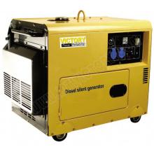 5000W Звукопоглощающий компактный портативный дизельный генератор с CE / CIQ / ISO / Soncap