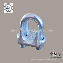 rigging hardware galvanizado cuerda de alambre de clip