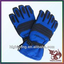 Venta al por mayor deportes de invierno caliente impermeable poliéster impermeable guantes de esquí