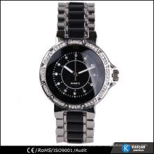 Diamant auf Zifferblatt Uhr Mode Genf Armband Uhr