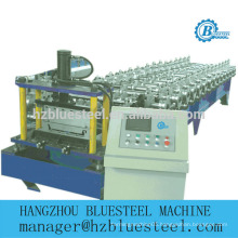 New Condition PLC Full Automatic Industrial Self Lock Galvanized Metal Standing Seam Roof Panel Roll Forming Machine For Sale