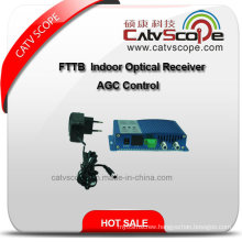 China Supplier FTTB AGC Control Indoor Optical Receiver