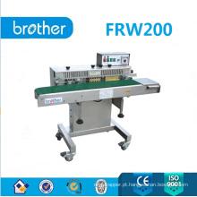 Seladora de faixa contínua de codificação de tinta sólida de alto peso