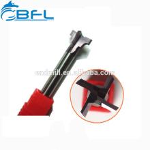 Fraise en bout de queue d'aronde en carbure monobloc BFL fabriquée en Chine