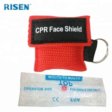 Professional cpr mask keychain