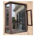 High quality residential aluminium profile hurricane impact double tempered glazed aluminium corner window
