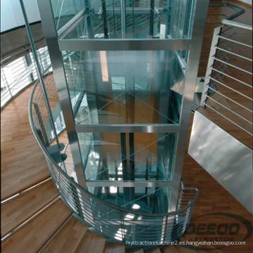Villa Glass Cheap Hotel Antique Lift Pequeño Ascensor para el hogar de pasajeros