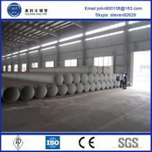 Fournisseur chinois ST35-ST52 huilé ou peint en noir pour la transposition de pétrole et de gaz