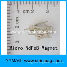 Good quality ndfeb/neodymium/smco micro/mini small block magnet made in china