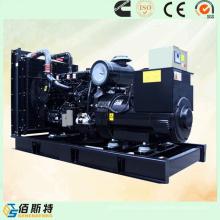 Conjunto de gerador diesel Cummins 250kVA para fornecimento elétrico