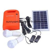 Portable DIY LED Solar Light Camping System for Outdoor Lighting