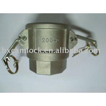 Aluminum Type D quick coupling