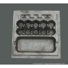 Moule professionnel en forme de plateau d'oeufs en plastique de forme personnalisée