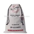 Bolsos populares al por mayor de la Navidad del lino de la alta calidad