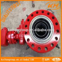 API 6a Cabeza de encapsulado cabezal de pozo campo petrolífero China KH