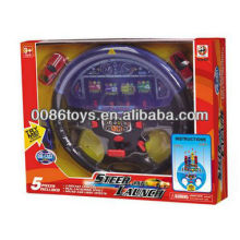 DIE-CAST car with steering wheel