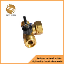 Brass Gas Ball Valve with Butterfly Handle (TFB-060-001)