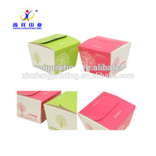 XinXiang Disposable CMYK Printing Paper Take Away Noodle Box With Handle ,ISO9001:2008