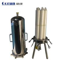 Filtración de alta precisión Carcasa de filtro de cartucho de líquido de múltiples funciones