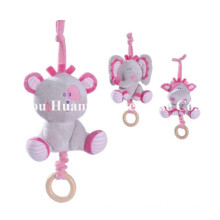 Factory Supply Nouveau design de jouet de mouvement musical en peluche bébé