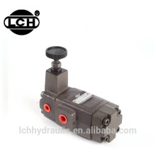 Hydraulique pièces de rechange pression hydraulique réduction de pression vanne de réparation hydraulique réducteurs