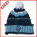 High Quality Fashion Winter Jacquard Crochet Hat