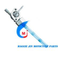 Pieza de motocicleta, llave de combustible para motocicleta para Jh70