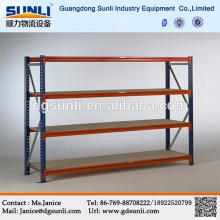 Fácil instalação dever médio ajustável Boltless prateleira de aço