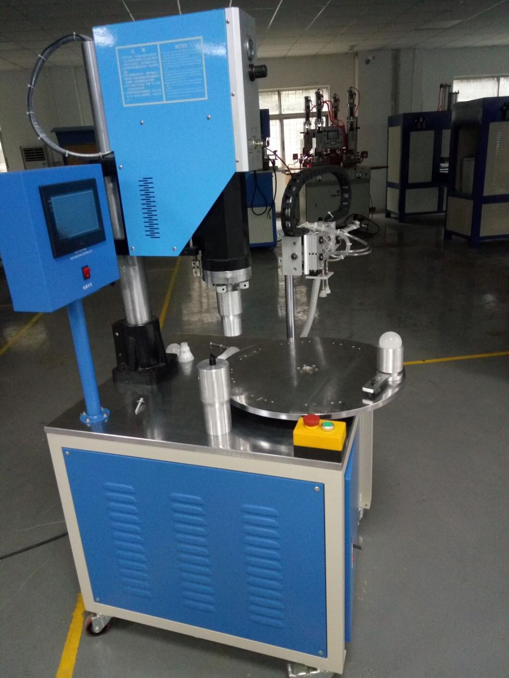 Multi Station Rotary Table Ultrasonic Plastic Welding Machine