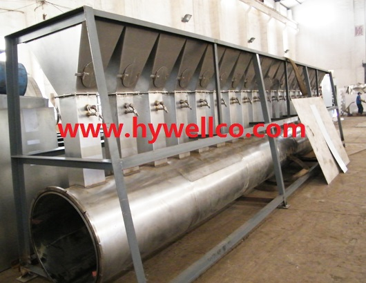 Polyethylene Granule Fluidized Dryer