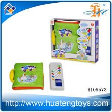 Vente en gros de l'éducation Les petits têtards à l'eau de couleur dessin tissu livre jouet H109573