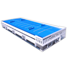 Metal Industrial Sheds Made in Prefab Material and Steel