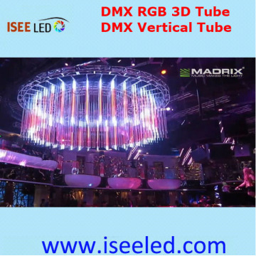 Dmx Artnet 3D Pixel Tubes for DJ Stage