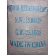 Natriummetabisulfit, Lebensmittelqualität