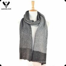 2016 última moda de inverno malha lenço de fios de nep